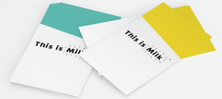 This is Milk stationery