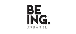 Being Apparel brand mark