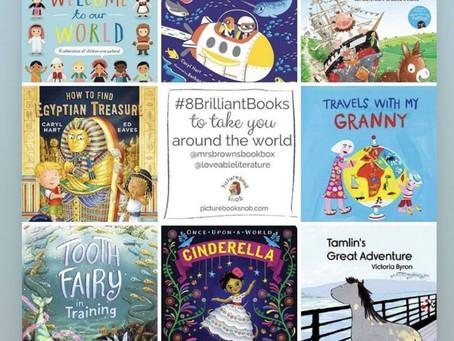 Books to take you around the world