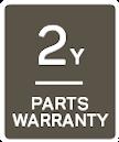 2 year parts warranty