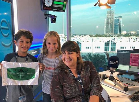 Campers take to the airwaves