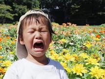 子供が泣き叫んだ時:さけること/すべきこと