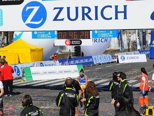 Barcelona Marathon - Jules Bennett 4th 2:46:18