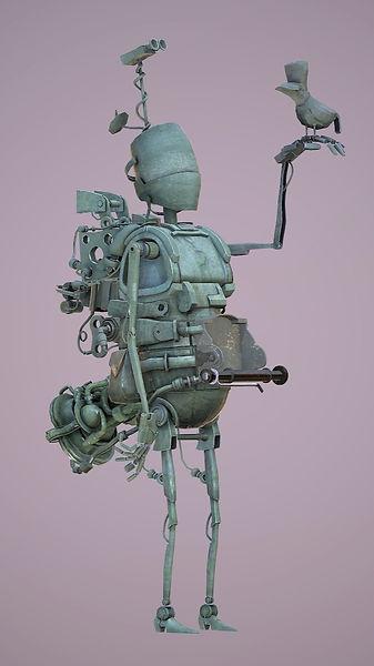 Mattias Robot 3D