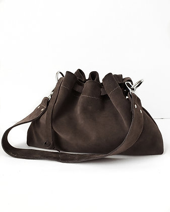 "Patty ""Coal"" Bucket Bag"