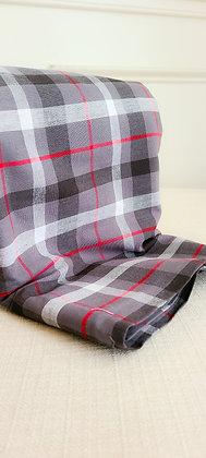 Plaid Check Print Cotton Fabric