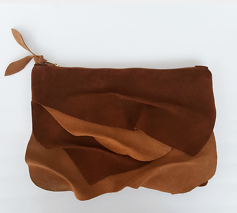 Reeses Suede Layla Clutch