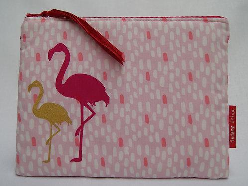 Etui-Toiletzak (flamingo)