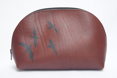 Lederen etui (brown)