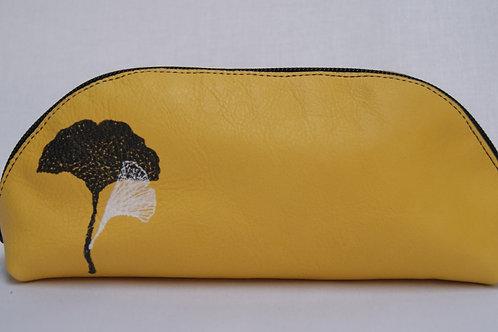Lederen etui (yellow)