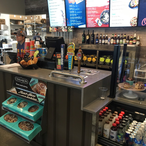 4 tap in counter custom install schlotzk