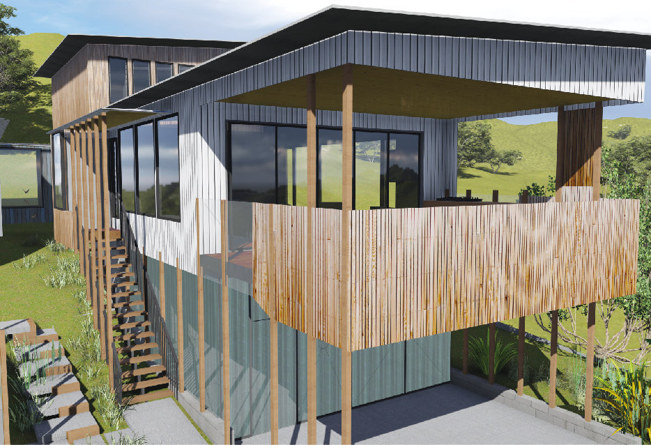 Yaroomba Beach House Architecture Deck-0