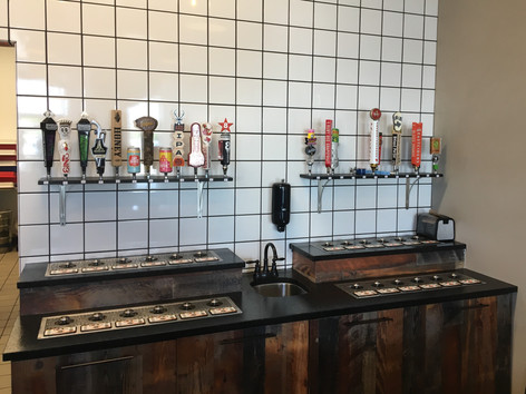 24 tap custom install of four 6 in count