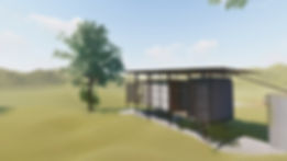 Tiny House CH-03 Shipping Container Back