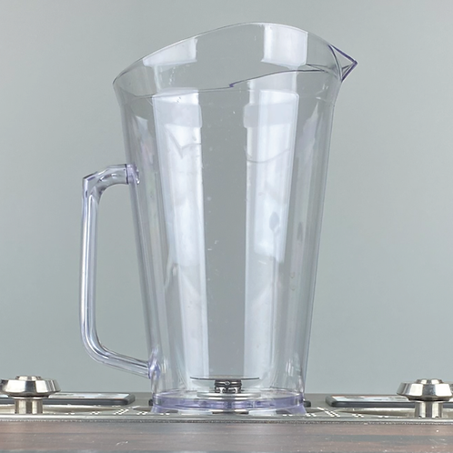 80oz Clear Bottoms Up Pitcher Case of 4