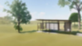 Tiny House CH-03 Shipping Container View