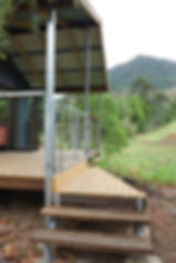 WALK HOME Deck as step design