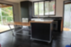 Industrial Kitchen Design Sunshine Coast WALK HOME