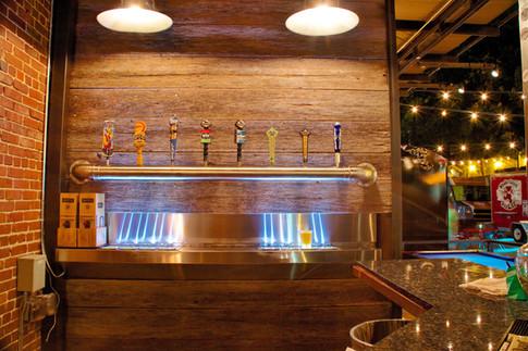 8 tap in counter custom long draw instal