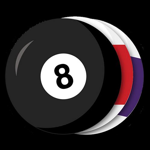 Billiards Magnets (100)