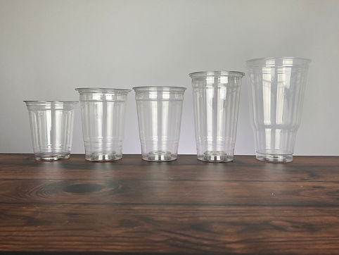 Bottoms Up Drinkware Disposable Plastic Cups