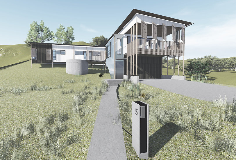 Yaroomba Beach House Architecture Front