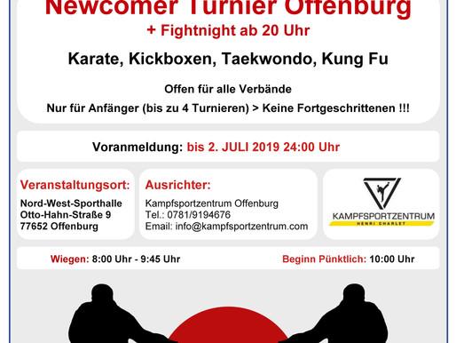 Am 6. Juli ist es wieder soweit! Unser alljährliches Newcomer Turnier findet statt :)
