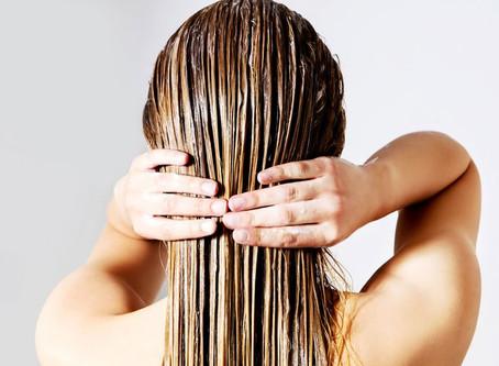 Scrub your hair!