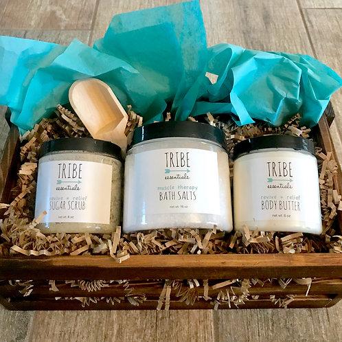 Deep Relief Gift Basket