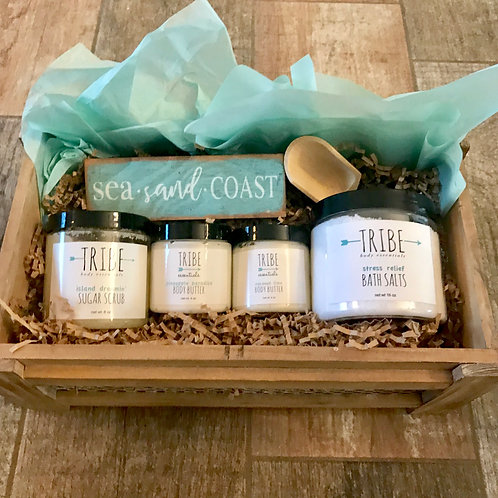 Beach Lovers Gift Basket