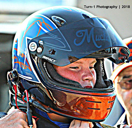 Michael Mucha Racing Impact Helmet