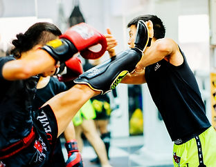 Muay Thai! Block