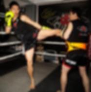 Muay Thai! Left Kick