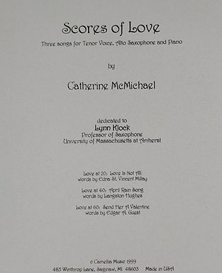 Scores of Love