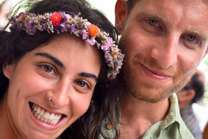 Wedding celebration in Raanana, Israel
