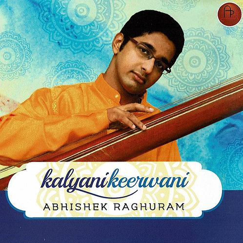 2021年秋来日予定!      【男性ボーカル・CD2枚組】「Kalyanikeeravani」 / Abhishek Raghuram