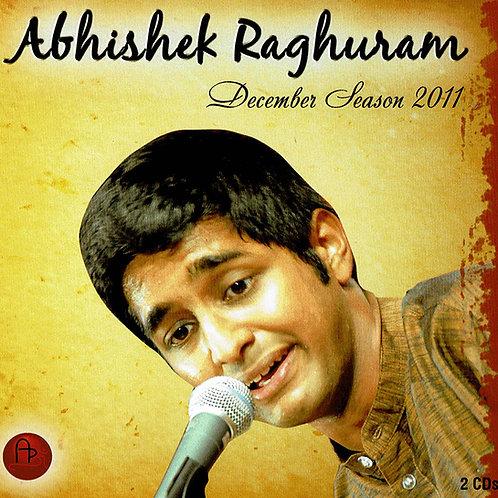 2021年秋来日予定!      【男性ボーカル・CD2枚組】「December Season 2011」 / Abhishek Raghuram
