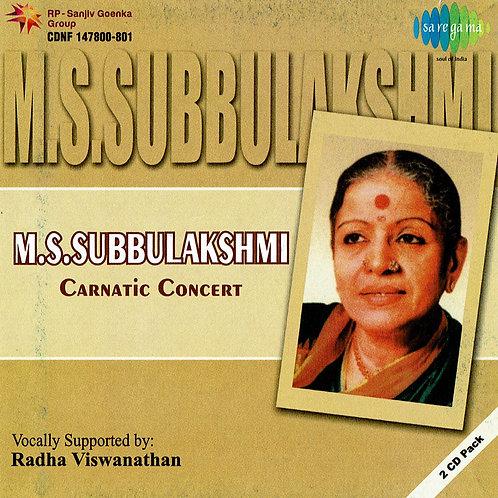 【女性ボーカル・CD2枚組】   「Carnatic Concert」 / M.S.Subbulaskhmi