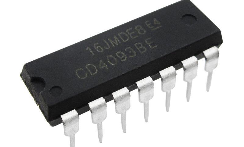 CD4093 - IC Porta NAND