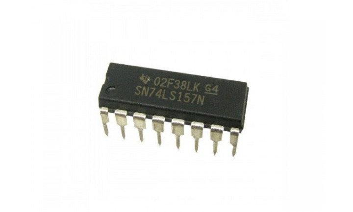 74LS157 - Quad 2-In Multiplexer