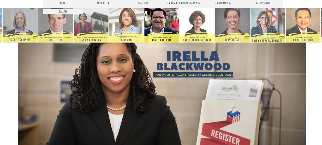Irella Blackwood 2018