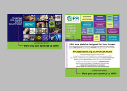 Website launch direct mail