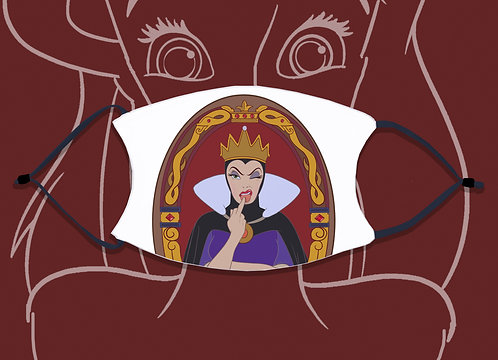 Face Mask / Villains - Evil Queen