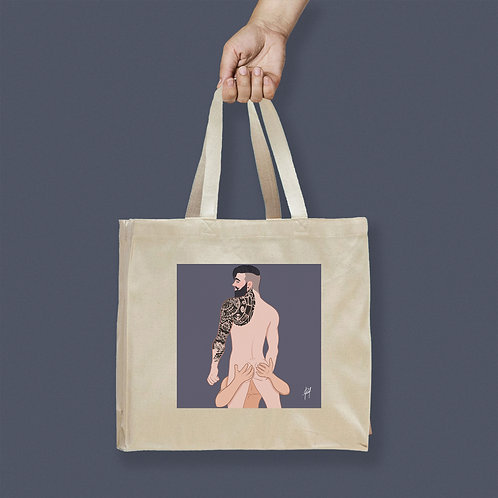 Tote Bag / Censored - Blowjob