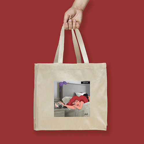 Tote Bag / Bad Day - Ariel