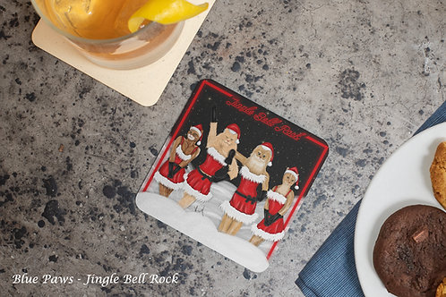 Set of coasters / Pawlidays collection