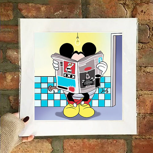 Poster / Freaky Club - Mickey