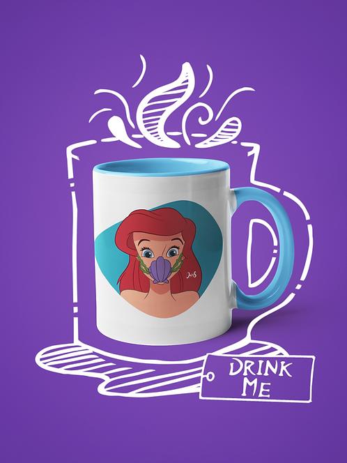 Mug / Queerantine - Mask Ariel