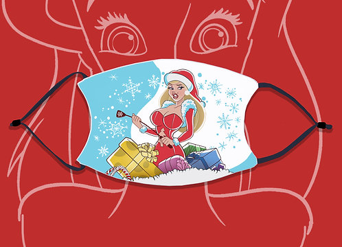 Face Mask / Christmas - Ms Claus