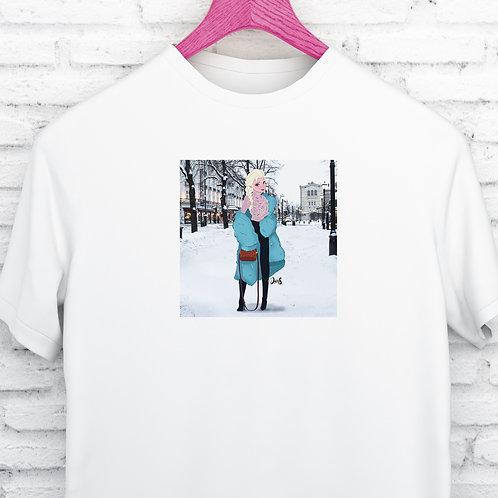 Unisex T-Shirt / Street Fashion - Elsa